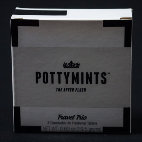 POTTYMINTS TRAVEL TRIO 3-PACK WHITE - THE LODGE  - 1