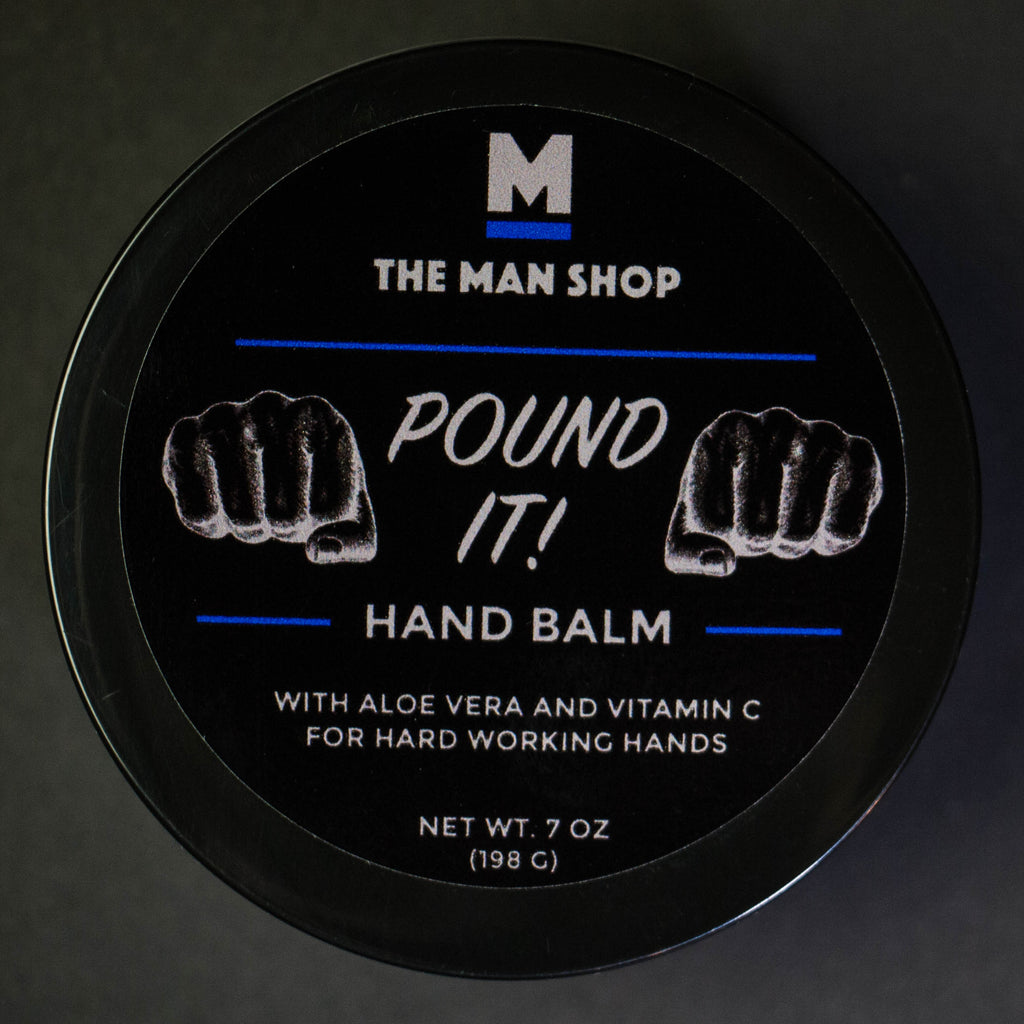 The Man Shop Pound It Hand Balm at The Lodge
