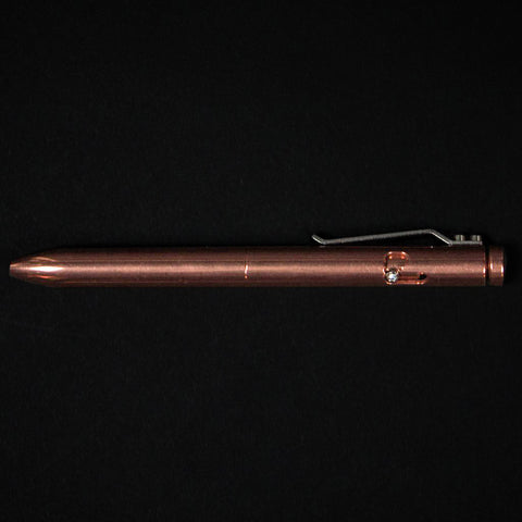 Karas Kustoms Copper Bolt Metal Pen