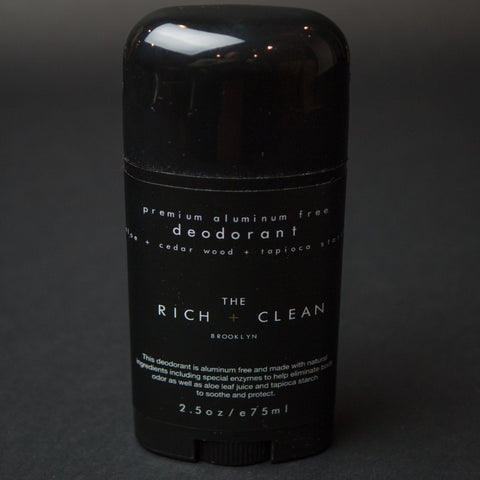 The Rich + Clean Deodorant at The Lodge