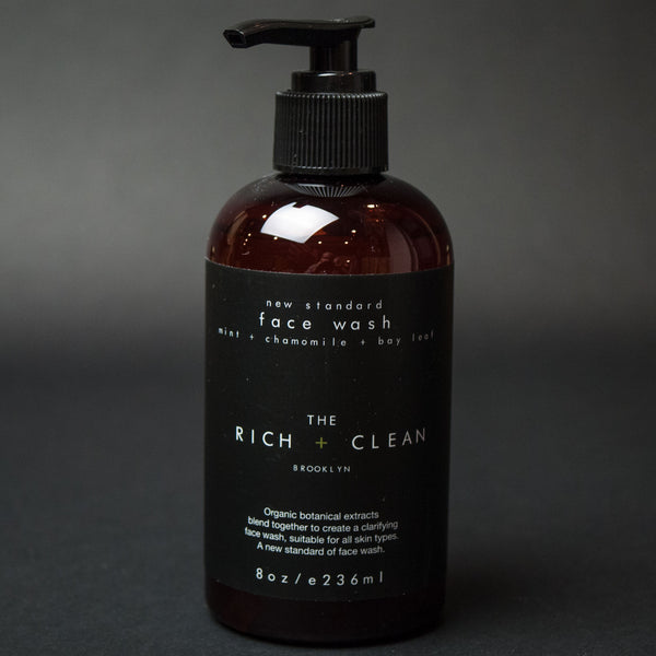 The Rich + Clean New Standard Face Wash at The Lodge