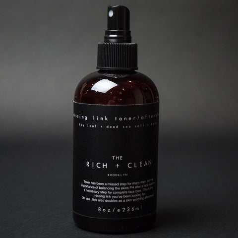 The Rich + Clean Missing Link Skin Toner at The Lodge