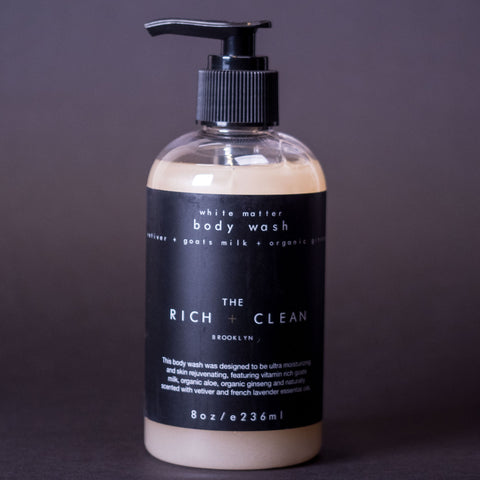The Rich & Clean Goat's Milk Body Wash at The Lodge