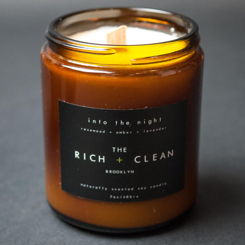 The Rich + Clean Into The Night Candle at The Lodge