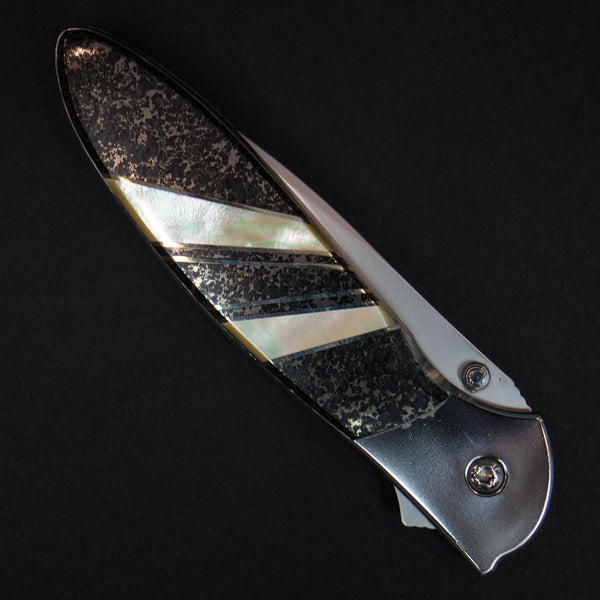 "Santa Fe Stoneworks Apache Gold 4"" Kershaw Leek Knife at The Lodge"