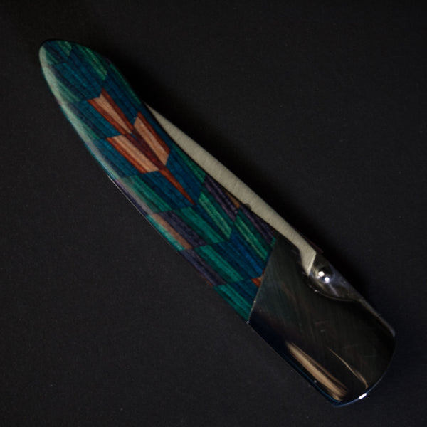 Santa Fe Stoneworks Los Lunas Kaleidoscope Wood Knife at The Lodge