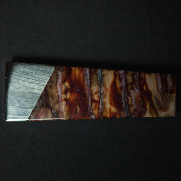 Red Woolly Mammoth Tooth Money Clip