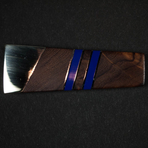ARIZONA IRONWOOD MONEY CLIP - BLUE - THE LODGE  - 1