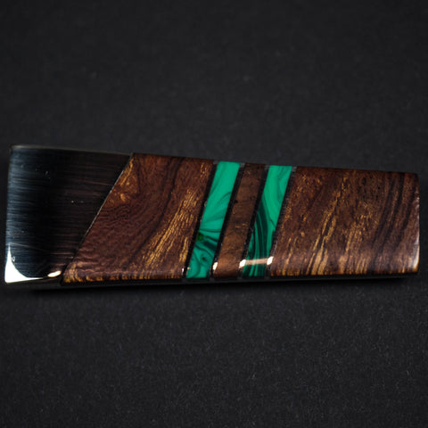 ARIZONA IRONWOOD MONEY CLIP - GREEN - THE LODGE  - 1