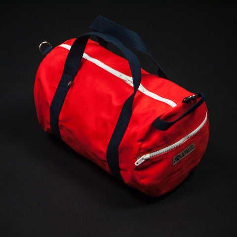 Hudson Sutler Saugatuck Commuter Duffle Bag Orange at The Lodge