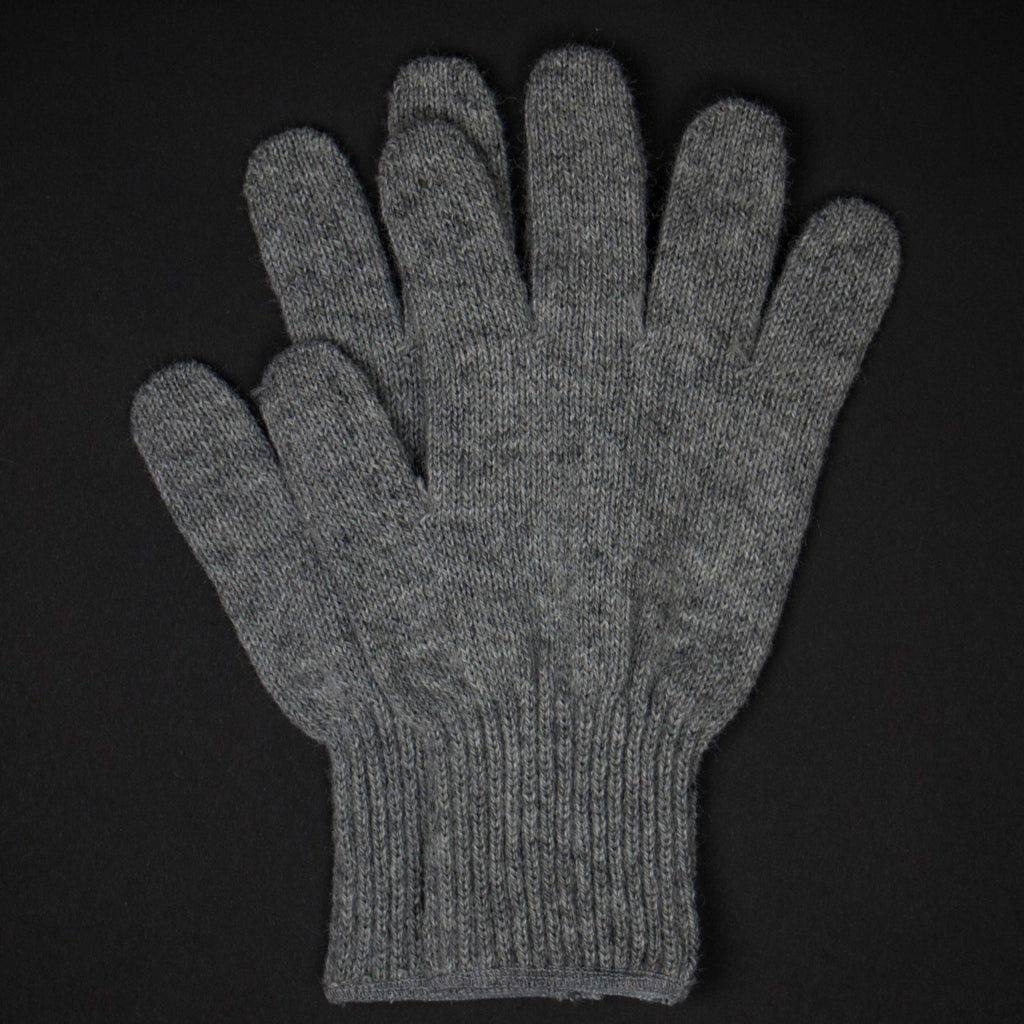 The Lodge Saugerties Grey Wool Gloves