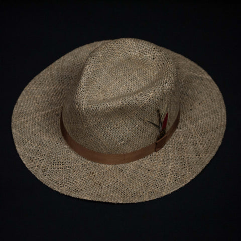 SEA GRASS STRAW TRAVELER HAT