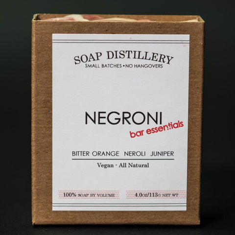 Soap Distillery Negroni Soap at The Lodge