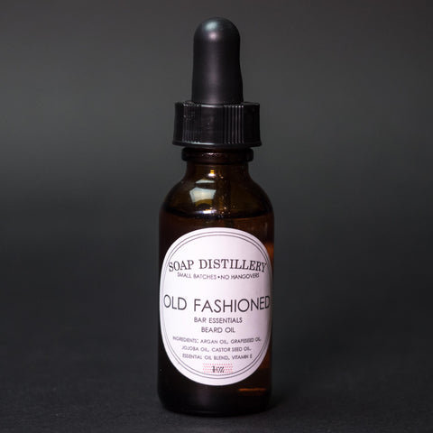 Soap Distillery Old Fashioned Beard Oil at The Lodge
