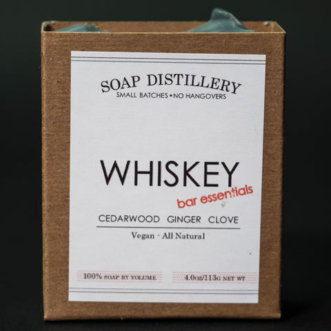 Soap Distillery Whiskey Soap at The Lodge