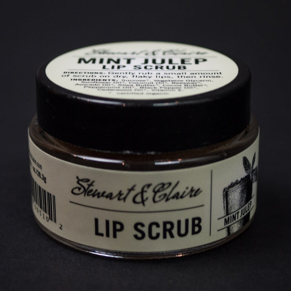 Stewart & Claire Mint Julep Lip Scrub at The Lodge
