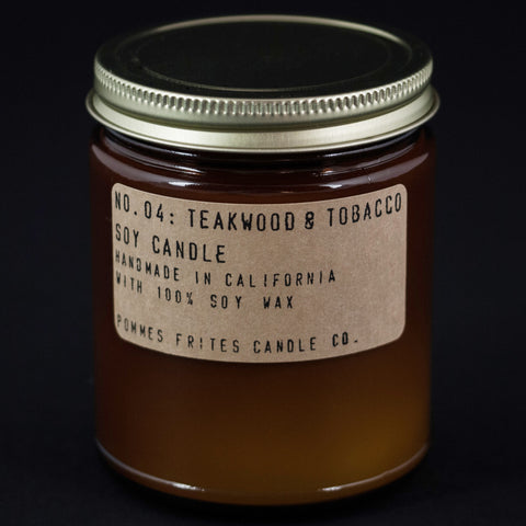 PF Candles Teakwood and Tobacco candle