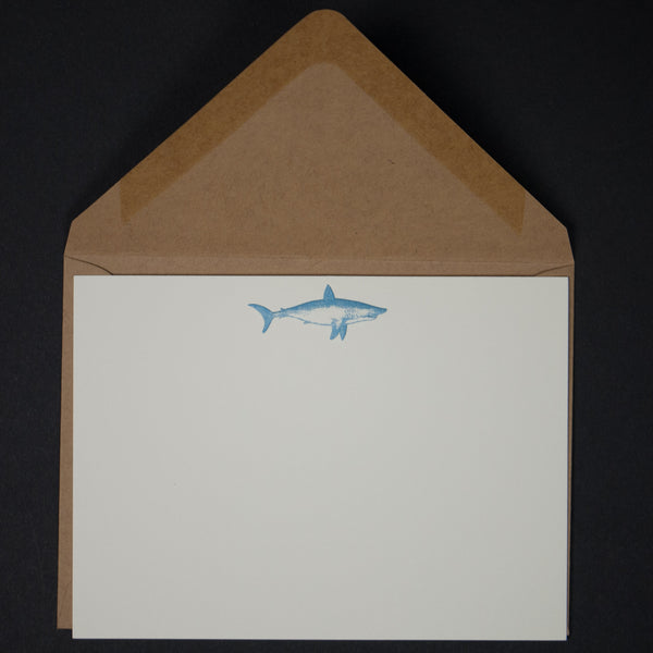 SHARK NOTE CARDS 6 PACK - THE LODGE  - 1