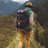 CLAY TOPO DESIGNS KLETTERSACK BACKPACK
