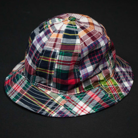 MADRAS TENNIS HAT