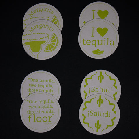 TEQUILA COASTERS - THE LODGE  - 1