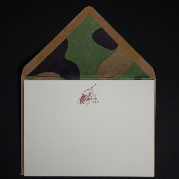 Terrapin Hunting Dog Notecards at The Lodge