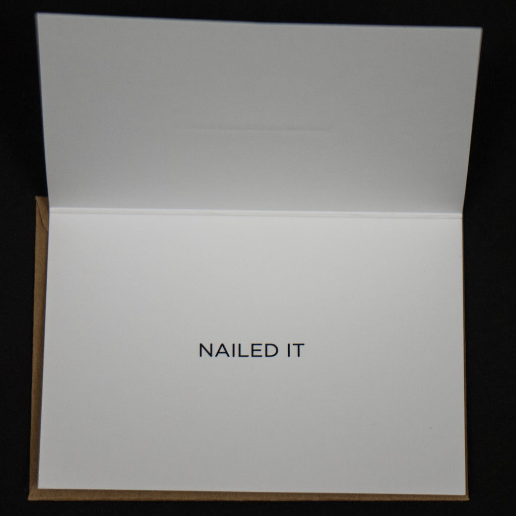 NAILED IT MINICARD- 6 PACK - THE LODGE  - 2
