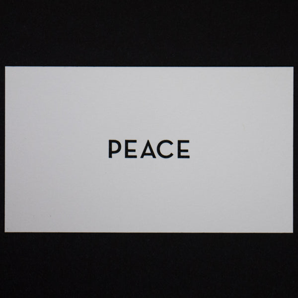 PEACE CALLING CARDS- 15 PACK - THE LODGE