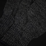 SAUGERTIES CHARCOAL WOOL GLOVES
