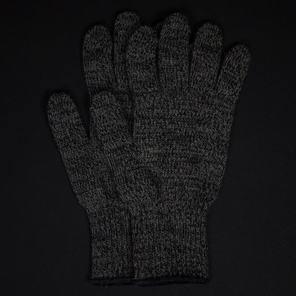 The Lodge Saugerties Charcoal Wool Gloves