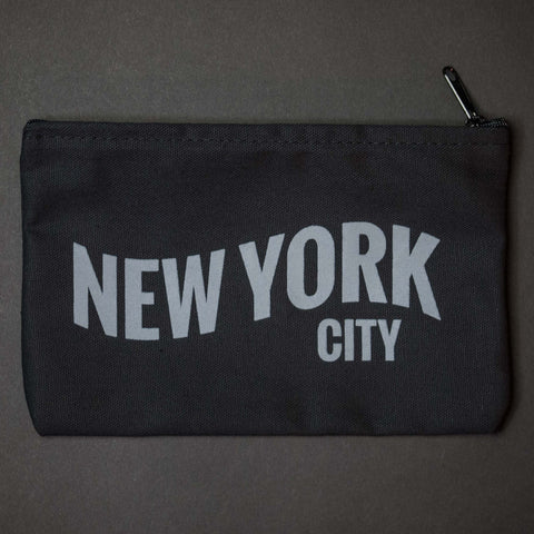 The Lodge New York City Zip Pouch Black