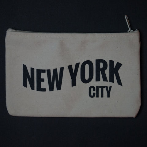 The Lodge New York City Zip Pouch Natural