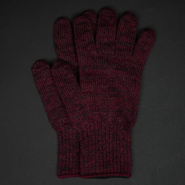 The Lodge Saugerties Red Wool Gloves