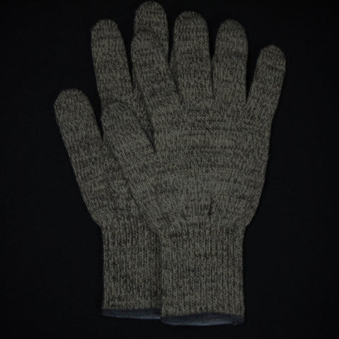 SAUGERTIES OATMEAL WOOL GLOVES- FINAL SALE