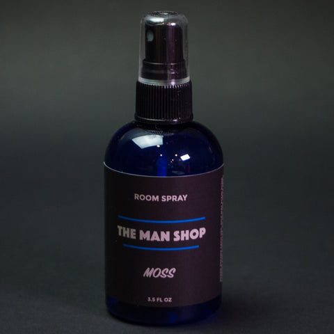 The Man Shop Moss Room Spray at The Lodge