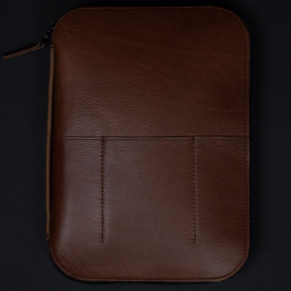 MOD TABLET 2 AIR/MINI ORGANIZER CASE COGNAC - THE LODGE  - 1