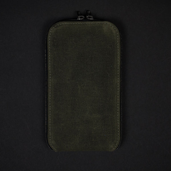 STASH WAXED GREEN IPHONE CASE 6/6PLUS - THE LODGE  - 1