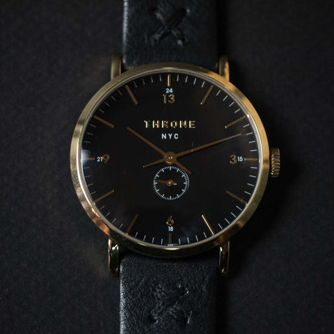 Throne 1.0 Tune Black/Gold/Black Watch at The Lodge