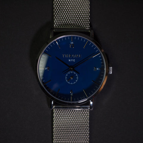 Throne Float 1.0 Blue with Stainless Steel Strap Men's Watch at The Lodge