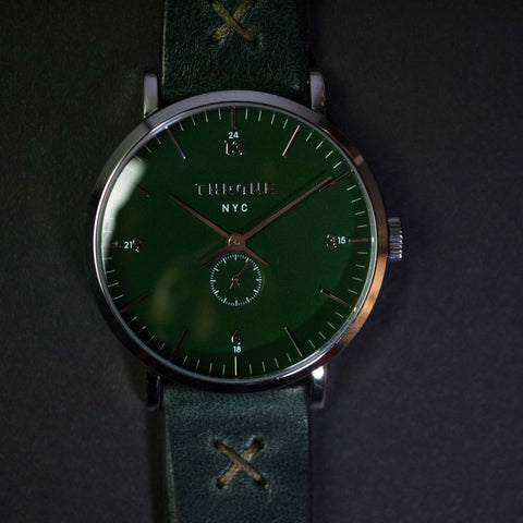 Throne Gather 1.0 Green Men's Watch with Green Strap at The Lodge
