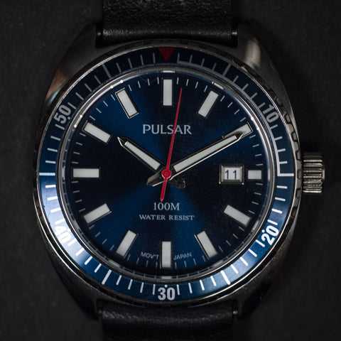 THRONE PULSAR BLUE WITH BLACK STRAP - THE LODGE  - 1
