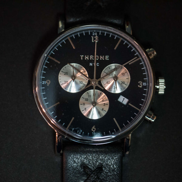 Throne 2.0 Ramble Men's Watch Black at The Lodge