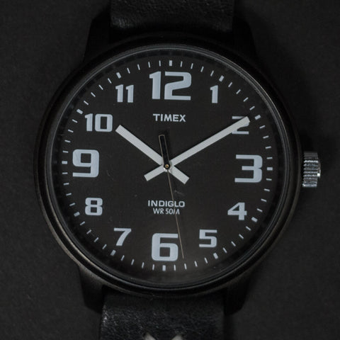 THRONE TIMEX INDIGLO BLACK/ BLACK WATCH - THE LODGE  - 1