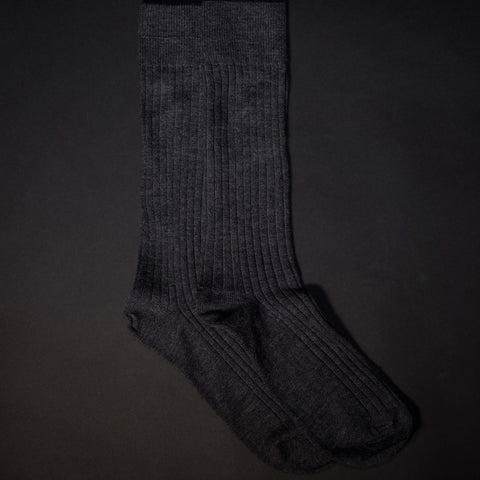 The Lodge Tompkins Charcoal Merino Wool Socks