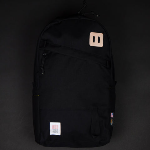 Topo Designs Daypack Black at The Lodge