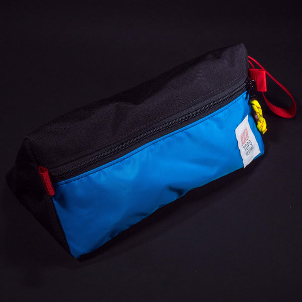 Topo Designs Dopp Kit Royal Blue/Black at The Lodge Man Shop