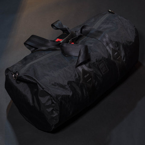 Topo Designs Duffel Bag Black X-Pack at The Lodge