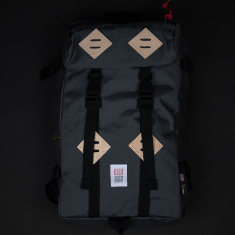 Topo Designs Charcoal Klettersack Pack at The Lodge