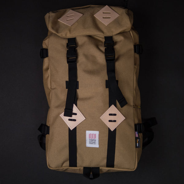 Topo Designs Klettersack Khaki at The Lodge