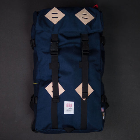Topo Designs Navy Klettersack at The Lodge Man Shop